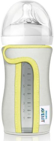 Philips Avent Glass Bottle 240ml Sleeve, beige, SCF676/01