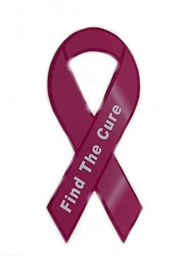 Brustkrebs Find A Cure Große Pink Ribbon Auto Magnet
