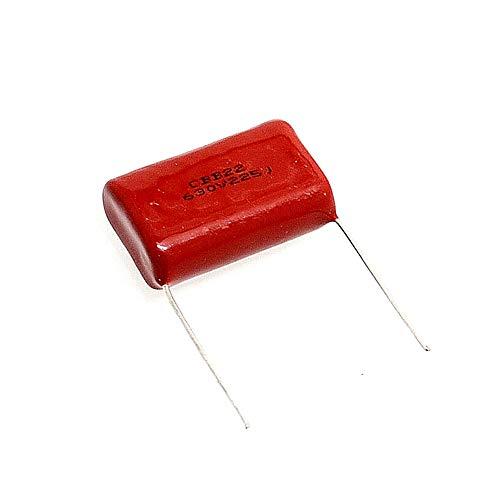 CBB-Kondensator, 25 mm, CBB22, 630 V, 225 2,2 UF, 2200 NF, 20 Stück -