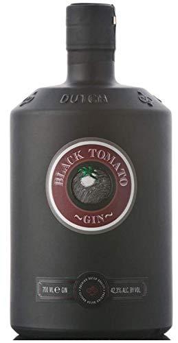 Black Tomato Gin - Distilled Spirit with Fresh Salt & Oosterschelde Water, Product of Netherlands, 42.3 {b95f47e87c4c4653de78b2d5728a12cc4e21ac4c28224150d4a9eaa7c740706b} vol. 700ml