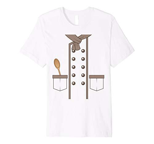 Chef Cook Costume Funny Sous Head Line Kostüm Koch T Shirt