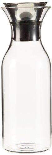 Eva Solo 567510 Kühlschrankkaraffe, Edelstahl, ohne Anzug, 1 Liter, Tropffrei