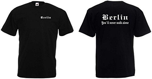 world-of-shirt Herren T-Shirt Berlin Ultras S-XXL
