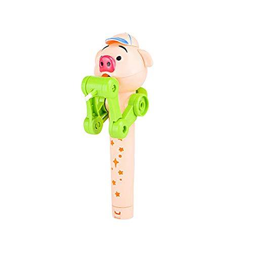 DarweirlueD Spielzeug für alle Altersgruppen lustige Kinder Schwein Roboter Lutscher Spielzeug Halter Dekompression Reliever Geschenk 4# -