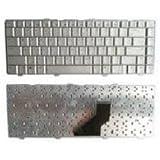Exilient Laptop Keyboard for Pavilion dv6000 dv6x00 Series Presario V6000, Silver