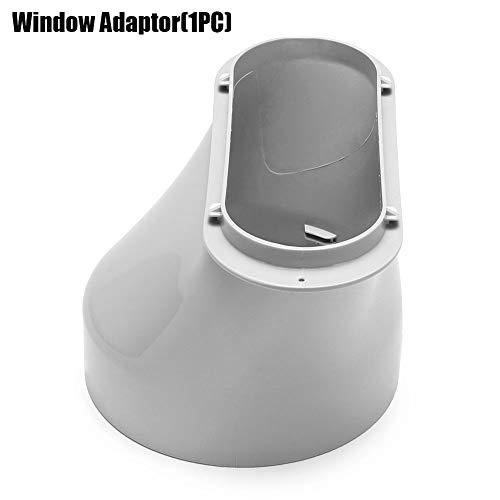 klimaanlage fensterabdichtung, fensterabdichtung klimagerät, klimaanlage Fensterabdichtung Window Vent Adapter, 2 Stück Window Slide Kit Platte Oder 1 Stück 43,30 Zoll / 15 Cm abluftschlauch adapter -