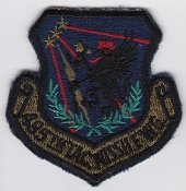 Applikation Aufbügler Patches Stick Emblem Aufnäher Abzeichen USAF Patch GLCM USAFE 485 TMW Tactical Missile Wing Cruise , , 74 x 75 mm ,, -