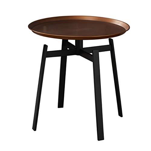 Tables Table Basse Table De Téléphone Table De Lit Table Basse Simple Nordique Balcon Plateau En Thé En Fer Forgé Coin Disque Côté Club-house Petite Table De Chevet Ronde Tables de dos de canapé