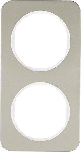 Hager 10122114 interruptor de luz Acero inoxidable - Interruptores de luz (Acero...