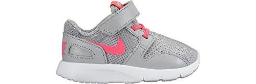 Nike Kaishi (Tdv), Chaussures de Football Bébé Garçon Multicolore - Gris / Rosa / Blanco (Wolf Grey / Hyper Pink-White)