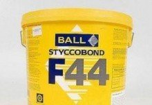 F Ball F44 Vinyl Flooring Adhesive 1ltr by F Ball