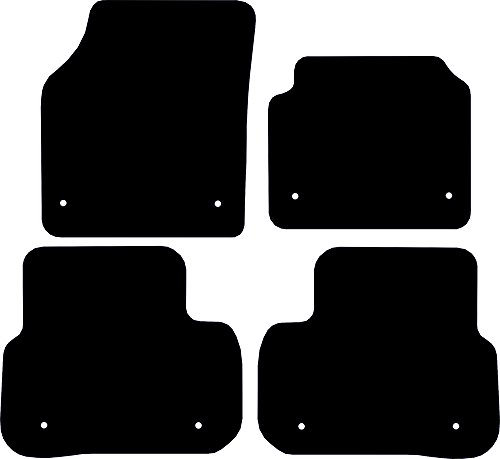 Premier Products Fully Tailored Black Standard Carpet Car Floor Mats