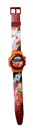 Kinder-Armbanduhr, Motiv: Disney Cars, Flash Mac Queen (Lightning Mcqueen Uhr)