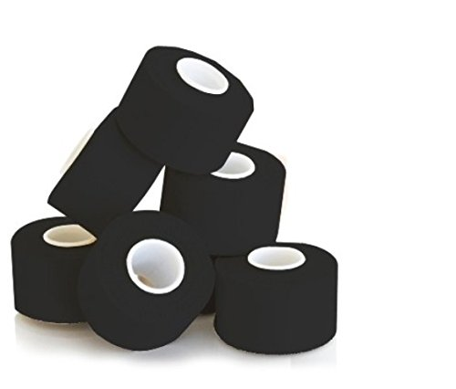 KK Hygiene Sporttape 3,8 cm x 10 m schwarz, 1er Pack (1 x 6 Stück)