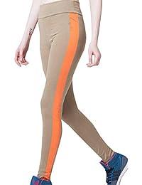BIRAN-5 Remiendo De Moda De Mujer Pantalones Alta Cintura Único De  Pantalones Pitillo Estirar Pantalones Largos Leggings Yoga Deportes… adb60742c9ec