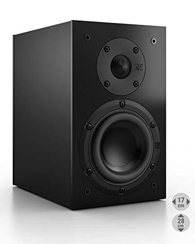 Nubert nuBox 303 Dipollautsprecher   Lautsprecher für Heimkino & HiFi   Musikgenuss auf hohem Niveau   Passive Surroundbox mit 2 Wege Technik   Kompaktlautsprecher Schwarz   1 Stück