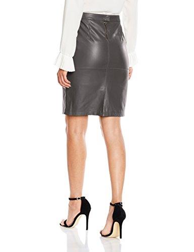 Vila Vipen New Skirt-Noos, Gonna Donna Grigio (Granite Grey)
