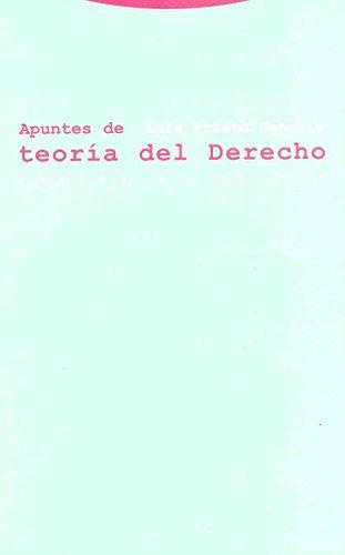Apuntes de teoría del Derecho (Estructuras y Procesos. Derecho) por Luis Prieto Sanchís