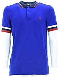 FRED PERRY homme polo à manches courtes M1565 919 RAYURES BRASSARD PIQUE SHIRT