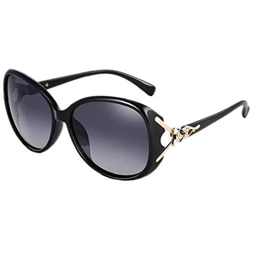 Übergroße Platz Sonnenbrille - Retro Polarisierte Sonnenbrillen Für Frauen