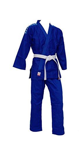 Kappa4judo barcelona, judogi unisex – adulto, blu, 3/160 cm