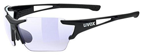 Uvex Unisex Erwachsene Sportstyle 803 race vm Sportbrille, Black, One Size