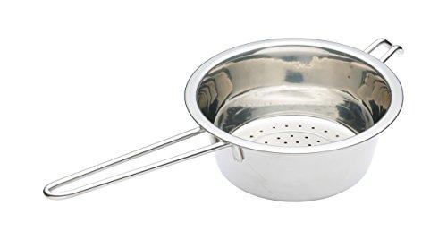 Kitchen Craft Edelstahl-Sieb, konisch, mit Haken, 13,5 cm Gourmet Cooking-gadgets