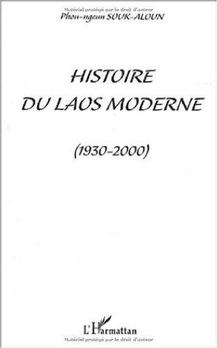 Histoire du Laos moderne (1930-2000) par Phou-Ngeun Souk-Aloun