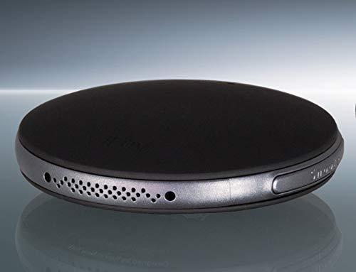 Humantechnik Smartshaker2 - Sistema de Alarma con Almohadilla Bluetooth y Vibraciones para teléfono, Color Negro