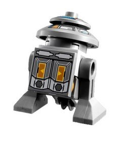 LEGO Star Wars - Minifigur T7-O1 aus Set 9497