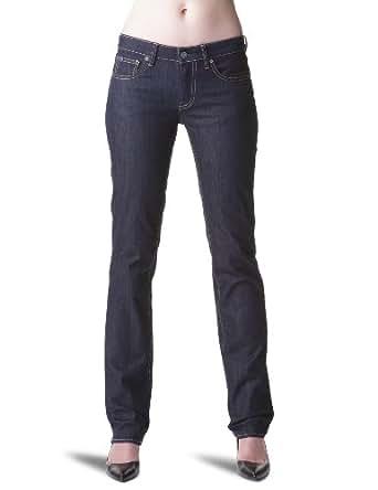 Le temps des cerises - Jea F 302 Basic - Jeans droit - Femme - Stone Washed - Bleu -23