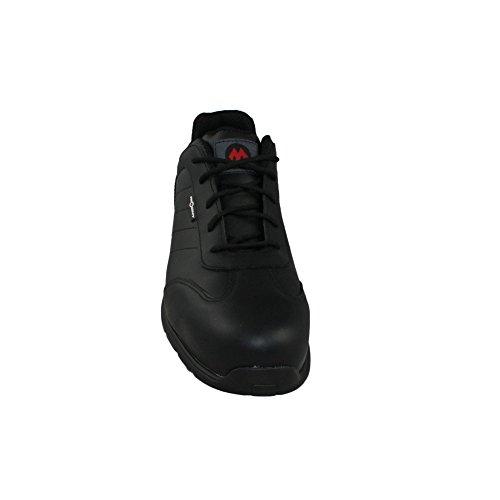 Aimont clipper chaussures de sécurité norme s3 sRC chaussures berufsschuhe businessschuhe plat noir Noir - Noir