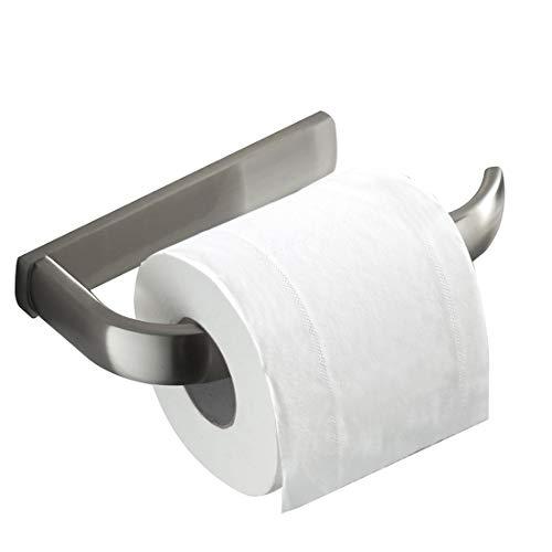 Bathfirst Toilettenpapierrollenhalter Hängender Handtuchhalter Messing gebürsteter Nickel Wandmontage Bad-accessoires -