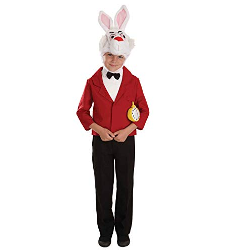 White Kostüm Kind Rabbit - Fun Shack FNK3883L Kostüm, Boys, White Rabbit, L