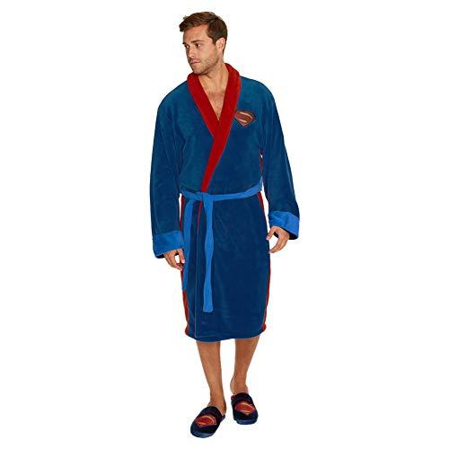 Batman v Superman Fleece Bathrobe Superman Groovy Comics Pyjamas