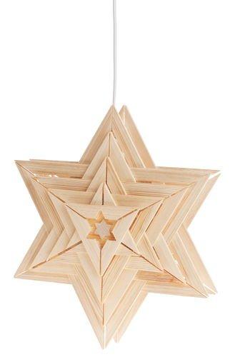 Preisvergleich Produktbild Belladecora® Weihnachtsstern Sirius mit E-Set/Birne (Easy Line) - Bausatz