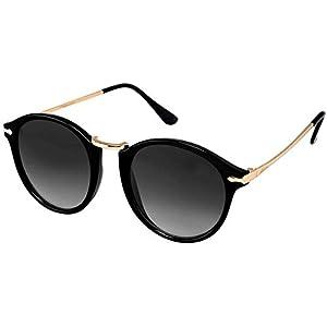 Y&S Latest Arrival Unisex UV Protected Black Color Sunglasses For Men Women Stylish Goggle (Rising Black Single)