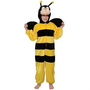 Kids Animal Boogie Woogie Busy Bumblebee Fancy Dress Halloween Party Bee - Busy Bee Kostüm