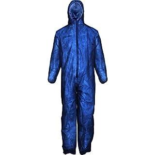Asatex PP-3 XL Einweg-Schutzbekleidung, Blau