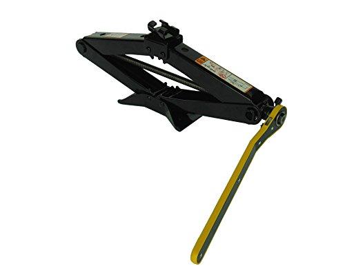 YASI MFG 2T Cric Cric Cric schern 11-45 cm Clé à cliquet Clé à cliquet pour SUV et Voiture Noir