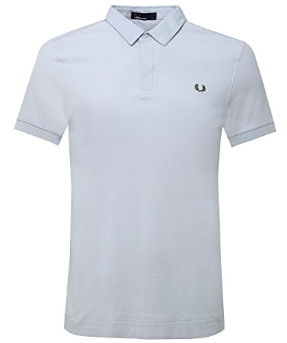 Fred Perry Men's Oxford Collar Polo Shirt Pearl