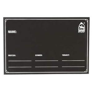 PFIFF 101848 Stalltafel, Boxentafel Boxenschild Namenstafel Namensschild