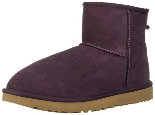 UGG Damen Mini Classic Hohe Sneakers, Port, 37 EU