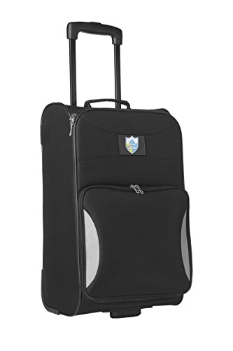 nfl-san-diego-chargers-legacy-steadfast-upright-carry-on-luggage-21-inch-black