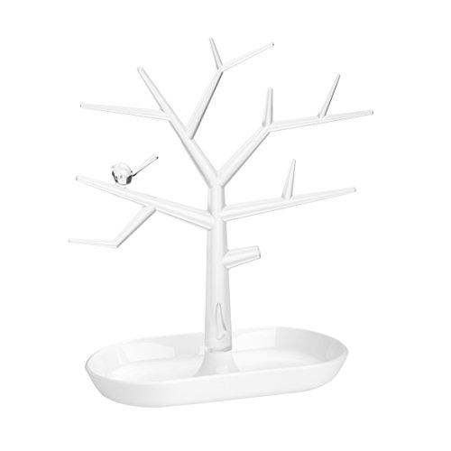 KOZIOL-PIP-M-Soporte-para-joyas-con-forma-de-rbol-color-blanco-transparente