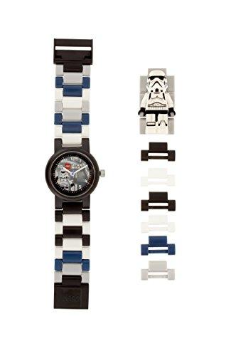 Reloj modificable infantil con figurita de la tropa de asalto de LEGO Star Wars 8021025