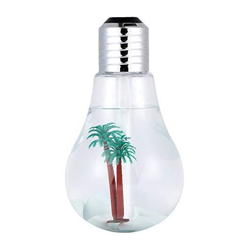 dongzhifeng Lámpara Humidificadora Ultrasónica con Lámpara Led para Difusor de Aceites Esenciales...