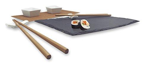 Vin Bouquet FIH 092 - Set de sushi, color negro width=