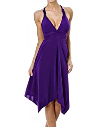 Waooh - Mode - Robe Marylin Lycra col V- Violet