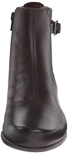 Clarks Rosalyn Lara Boot Dark Brown Leather